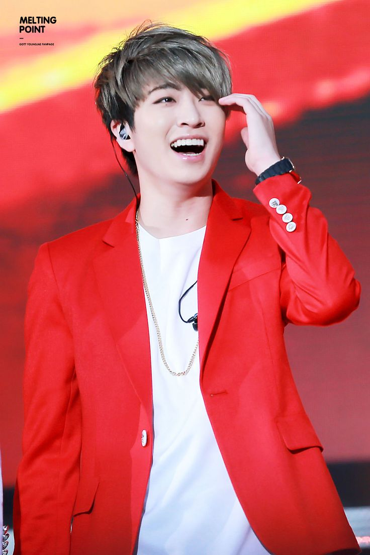 Youngjae (got7) I love his smile and to hear him laugh. Don't get me wrong the man can sing!