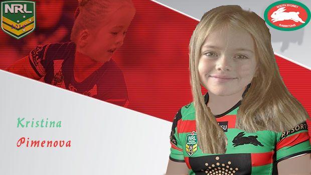 NRL Fantasy Fakes - Kristina Pimenova South Sydney Rabbitohs