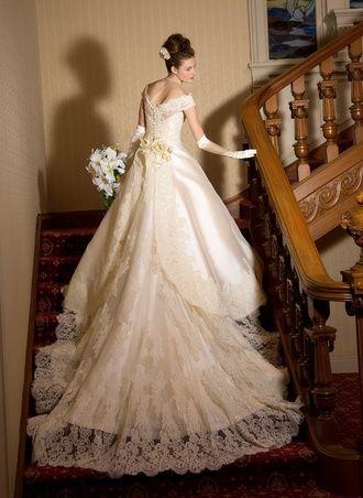 ミカドシルクの光沢がうつくしい♪ ♡ラグジュアリーな花嫁衣装ウェディングドレスまとめ参考一覧♡