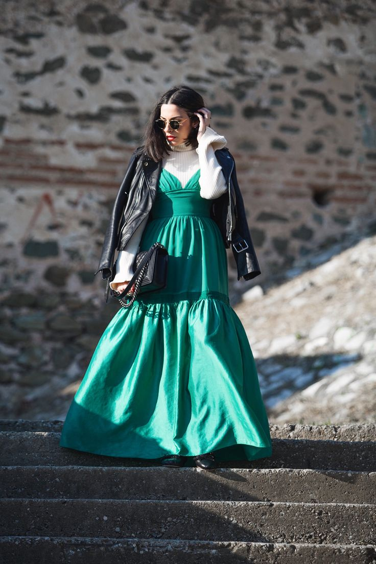 reinvent your summer dress for Christmas and New Year's Eve