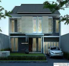 Hasil gambar untuk fasad rumah tropis modern
