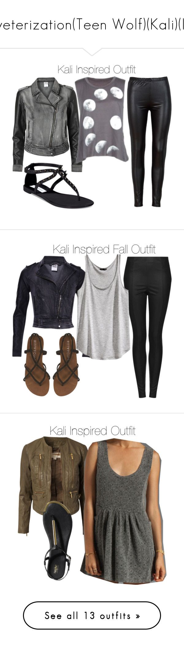 """veterization(Teen Wolf)(Kali)(I)"" by nessiecullen2286 ❤ liked on Polyvore featuring Vero Moda, Steve Madden, Topshop, H&M, Billabong, MICHAEL Michael Kors, Evil Twin, Mossimo, Hudson and Nails Inc."