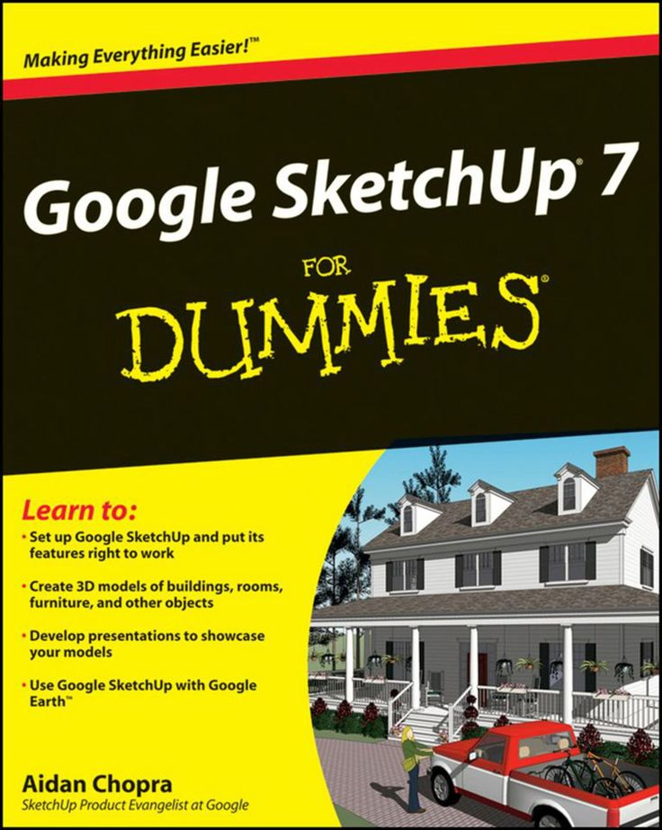 Google Sketchup 8 For Dummies Google Sketchup Urban Books