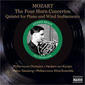Mozart: 4 Horn Concertos & Piano and Wind Quintet, Dennis Brain