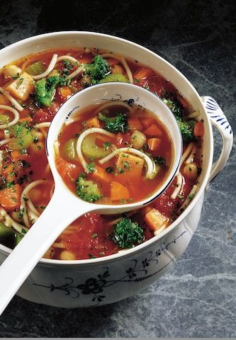 Vegetable and Bean Minestrone Soup