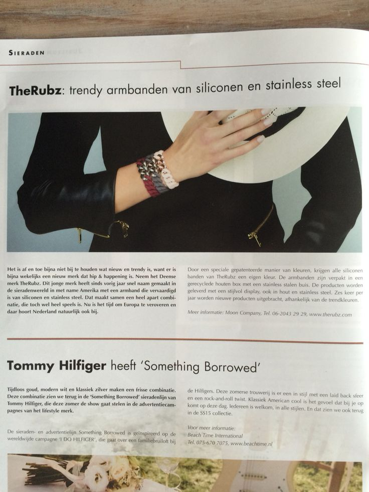The Rubz in vakblad De Juwelier
