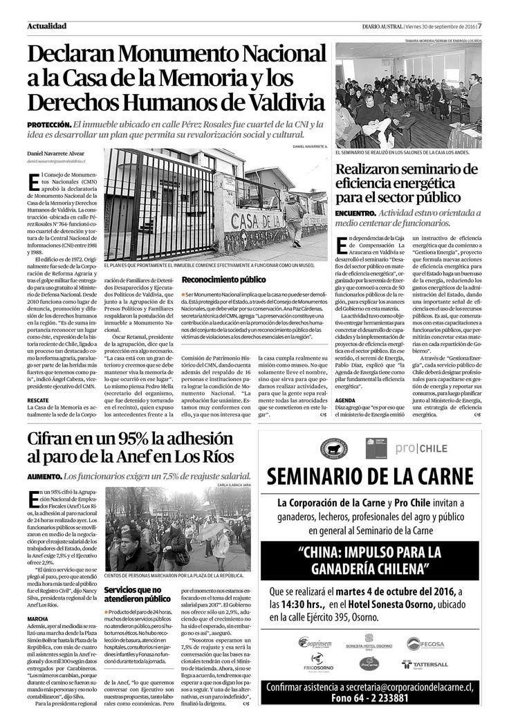 Página 7 | australvaldivia.cl - El Austral de Los Ríos - Valdivia, Chile