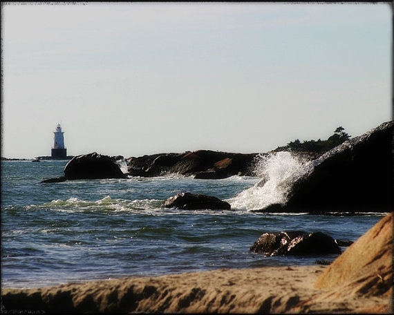Sakonnet Point Lighthouse 2 Little Compton Ri 8x10 By 630photo Lighthouses Pinterest And Rhode Island