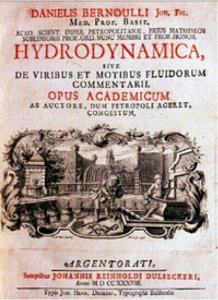 Karya awalnya Hydrodynamica, diterbitkan pada tahun 1738 menyerupai Joseph Louis Lagrange dalam Mécanique analytique yang diatur sedemikian rupa sehingga semua hasil merupakan konsekuensi dari prinsip tunggal, yaitu konservasi energi. Bernoulli juga menulis sejumlah besar makalah tentang berbagai pertanyaan mekanis, terutama pada masalah yang berhubungan dengan string bergetar, dan solusi yang diberikan oleh Brook Taylor dan Jean le Rond d'Alembert.