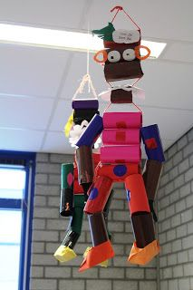 * Zwaarte Piet van wc-rollen!