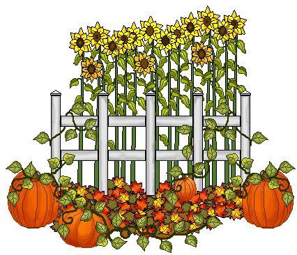 Fall Clip Art | Sunflower Clip Art - Sunflowers Images - Sunflower Graphics