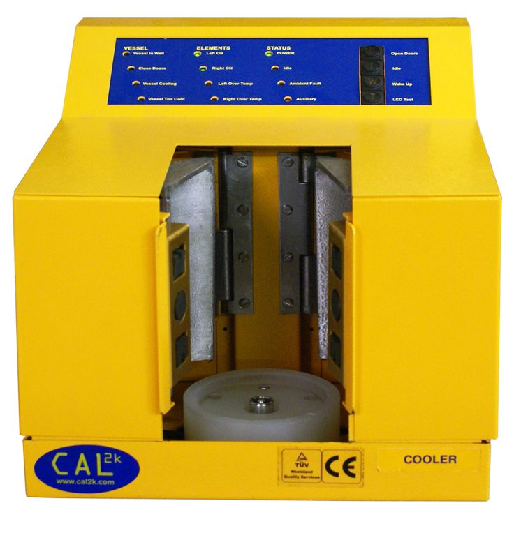 The CAL2K Cooler - used for cooling a bomb vessel after a calorific value determination - DDS CALORIMETERS