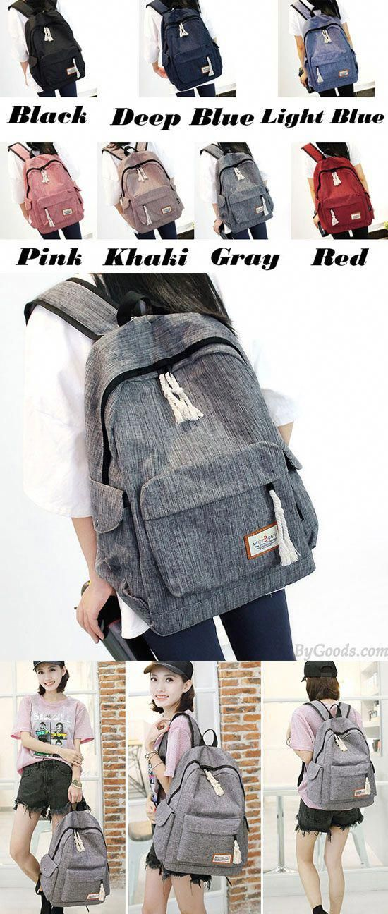 Simple Girl s Waterproof Oxford Cloth Leisure Large School Backpack Travel  Backpack for big sale!  Backpack  school  college  student 6887c0e68795f