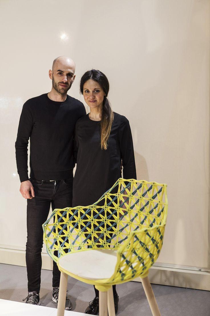 Studio Nito (Germany), winner of the 2016 SaloneSatellite third prize. Credits: Andrea Mariani