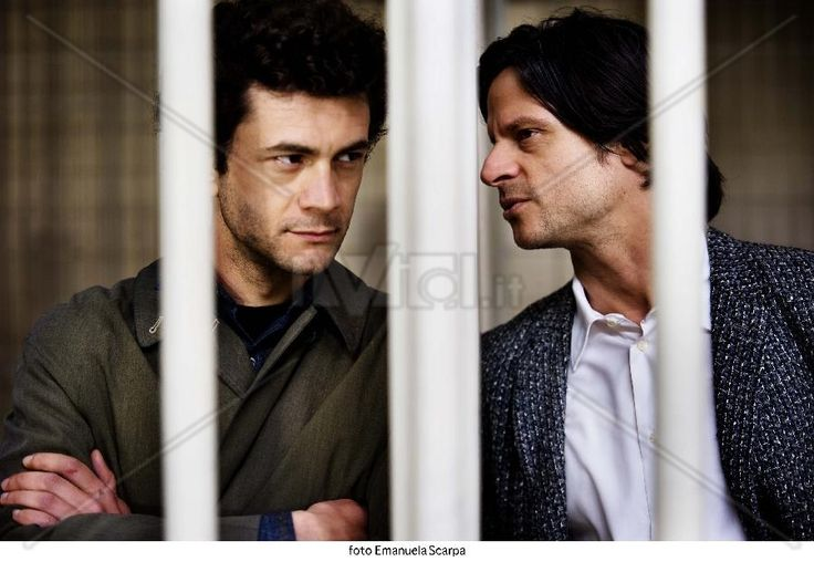 """Romanzo_criminale""_2_Vinicio Marchioni and Andrea Sartoretti (Fredo and Buffalo). Кадр из фильма."