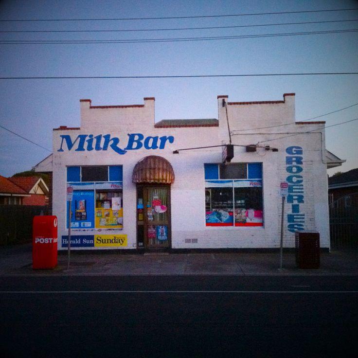 Milk Bar in Murrumbeena, Melbourne, Australia