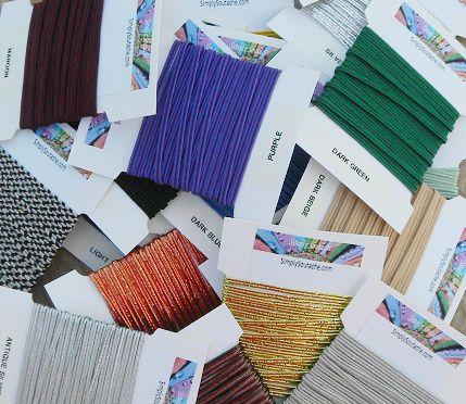 Soutache, Soutache Supplies, What is Soutache? Soutache Jewelry, Soutache Kits, Soutache Tutorials, Ultrasuede