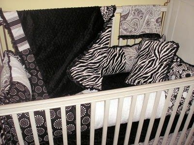 All done with babies..but thought this was adoreable! Black and white patterns are great for baby's eyes too