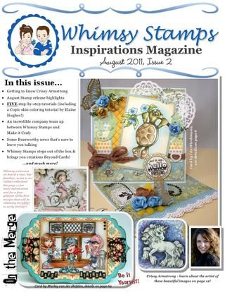 Whimsy Stamps Inspirations Magazine - Issue 2