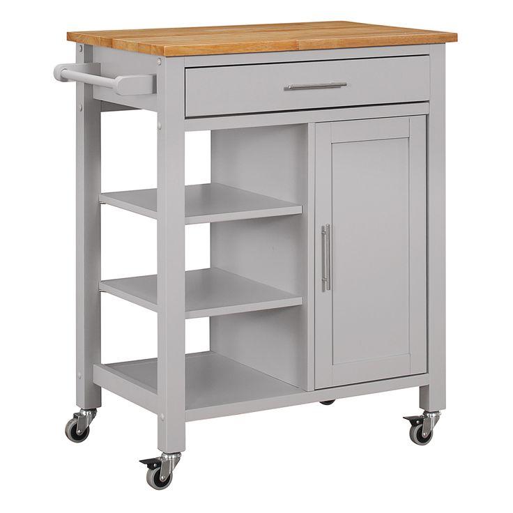 farmhouse style kitchen cart