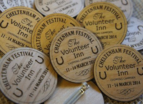 Wooden Event Badges