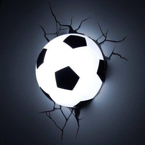 3D Wall Art Nighlight - Soccer Ball