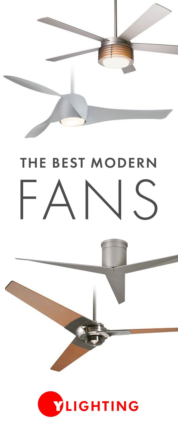 Keep your space cool and looking great with a modern ceiling fan. YLighting offers an assortment of ceiling fans that include the most modern styles available from the highest quality brands. http://www.ylighting.com/category/Fans/Ceiling-Fans/_/N-16ytm