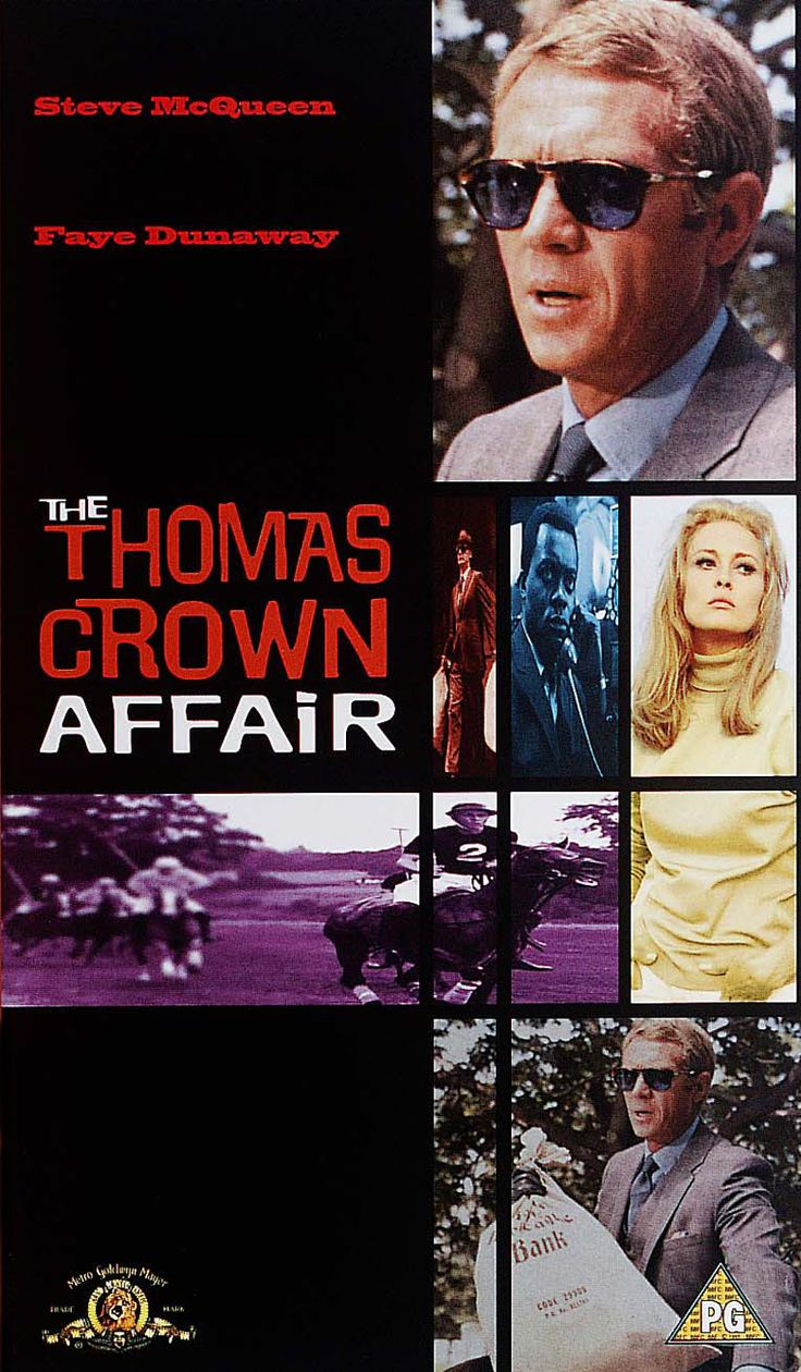 The Thomas Crown Affair, par Norman Jewison (1968).