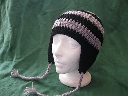 Free Crochet Pattern For Mens Earflap Hat : Pinterest The world s catalog of ideas