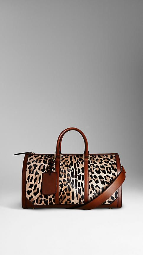 The Boston in Spotted Animal Print | Burberry