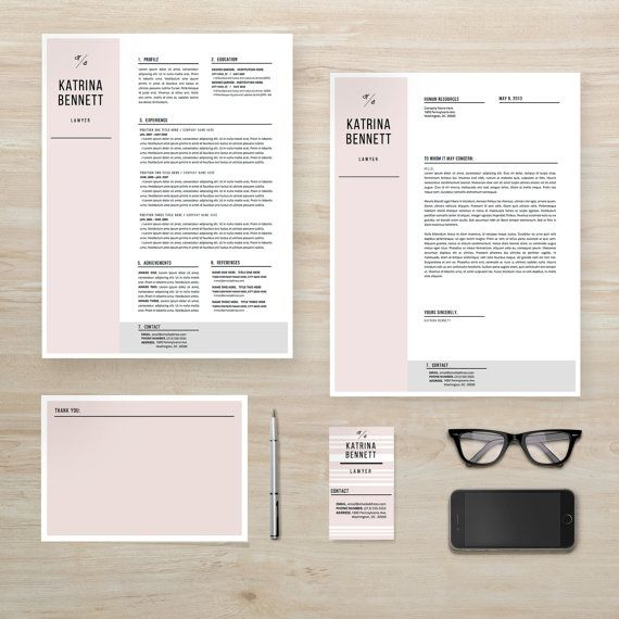 professional resume cover letter business card by resumelab