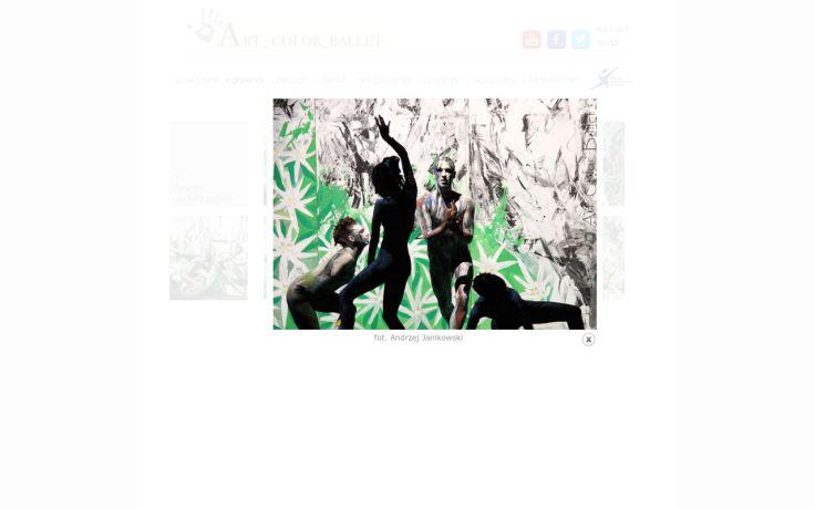 """Wykonanie choreografii """"Orawa"""" to połączenie baletu, malarskiej scenografii z typowo polską muzyką nawiązująca do folkloru góralskiego."""