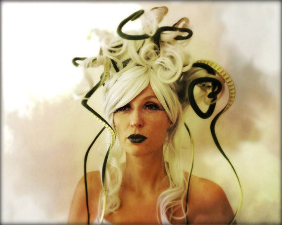 Medusa Wig Costume by monkeythumbs on Etsy, $99.00