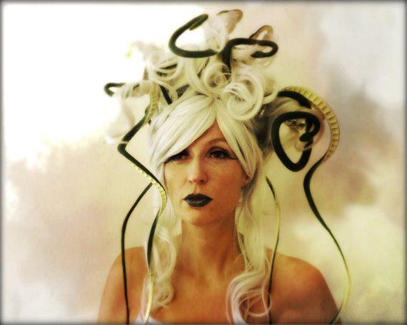 Medusa Wig Costume by monkeythumbs on Etsy, $108.00