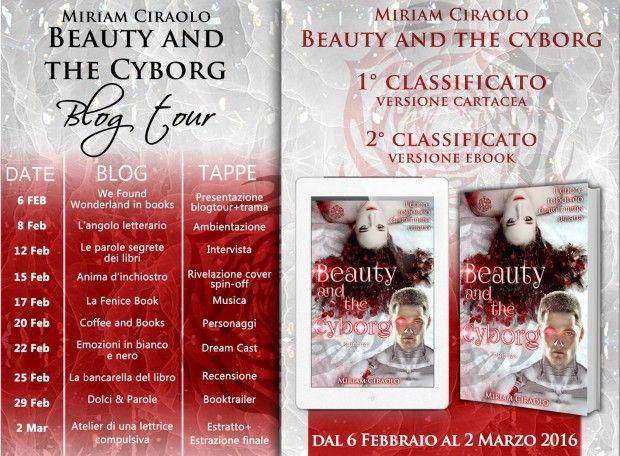 """Atelier di una Lettrice Compulsiva: Blog Tour """"Beauty and the Cyborg"""" di Miriam Ciraol..."""