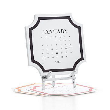 Roosevelt Desk Calendar #makeyourmark