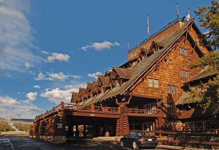 Yellowstone Lodging - In a park rife with natural wonders, it's pretty hard for anything man-made to compare. But the best lodges in Yellowstone nearly justify a visit unto themselves. www.justahead.com