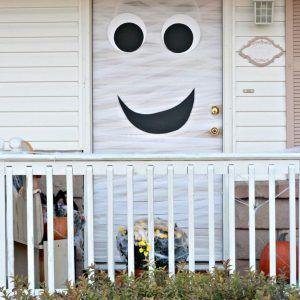 Halloween Front Door Decorations