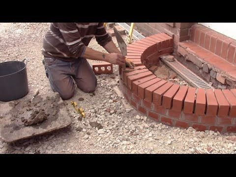 Designing And Building A Brick Curved Step. In This Video Tutorial I Show  You How