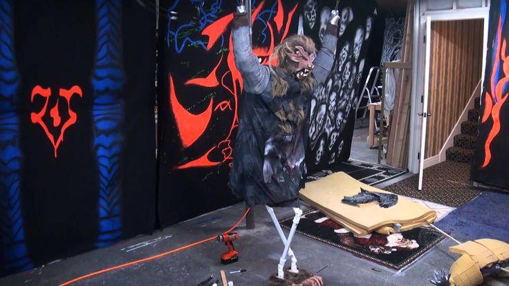 Werewolf Animated Halloween Prop