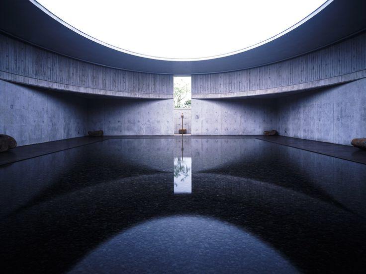 "Three Art Museums ""water"" by Itami Jun in Jeju, Korea"