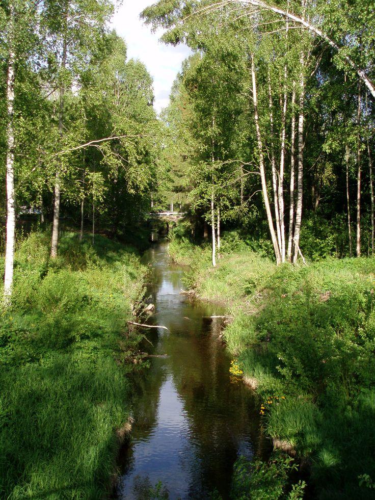 Vantaanjoki, Riihimäki. Kuva: Päivi Lazarov