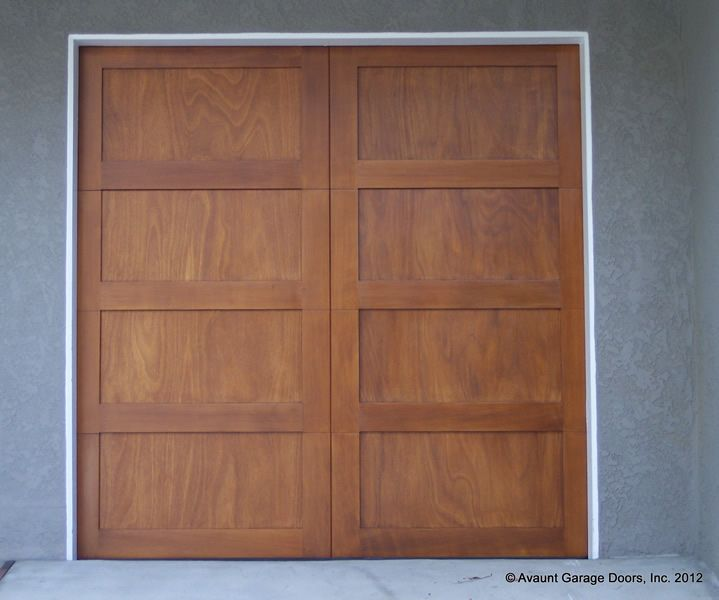 Full Custom Wood #Garage Door. Wood Garage Doors And Gates Design Ideas  Https: