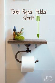 Toilettenpapier Halter