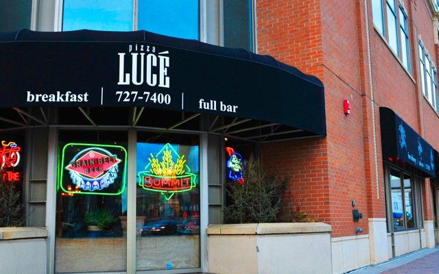 Pizza Luce, Duluth, MN.  Some of the best pizza I have ever eaten.  Lots of Vegan/vegetarian cuisine available!