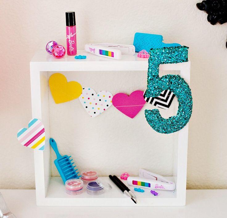 DIY Tutorial: Barbie Birthday Party Centerpiece Idea // Hostess with the Mostess®