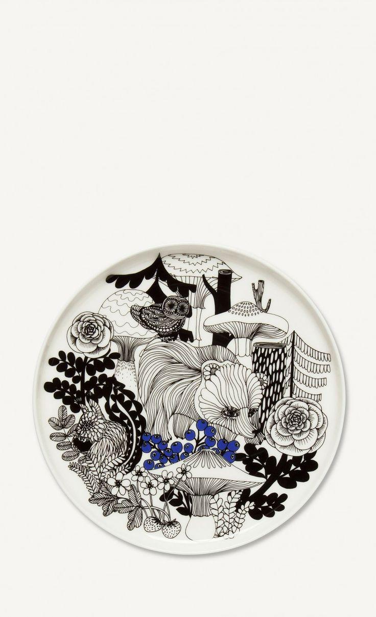 Oiva/Veljekset -lautanen - Marimekko