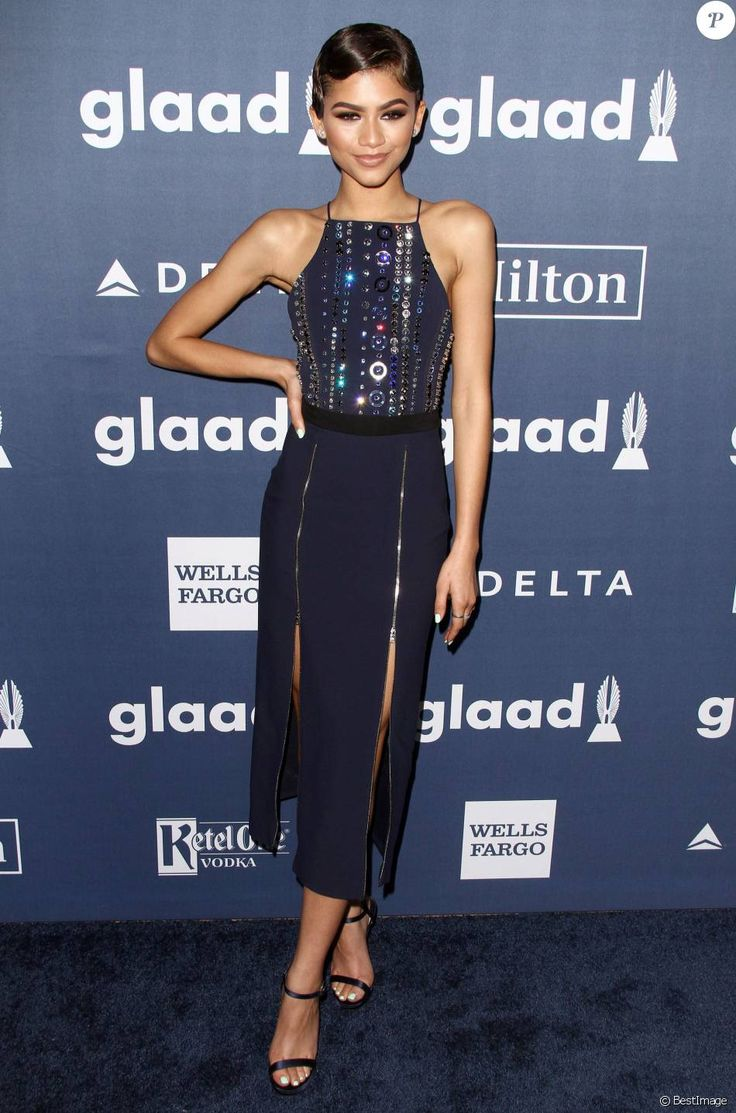 """Zendaya Coleman - 27e """"Annual GLAAD Media Awards"""" à Beverly Hills le 2 Avril 2016."""