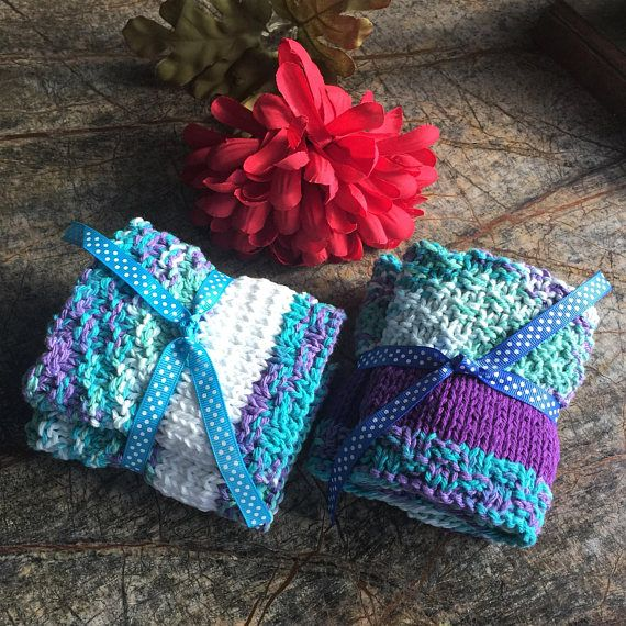 Hey, I found this really awesome Etsy listing at https://www.etsy.com/listing/573383745/knitted-dishcloths-set-of-2-dishcloths