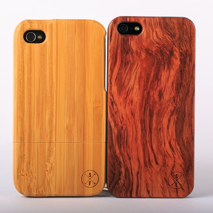 Every handcrafted wood phone case is unique and 20% of every purchase goes to charity, with a tree planted for every product sold!